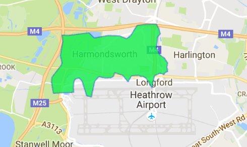 harmondsworth-ub70-postcode-sector